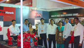 Fire India Exhibition, Bombay Exhibition Centre, Goregaon