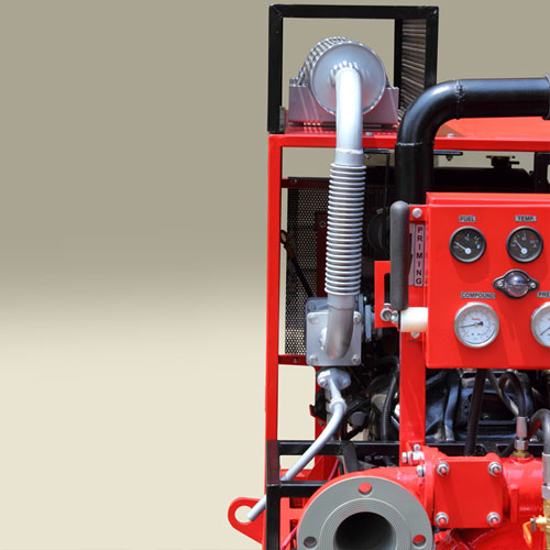 High Capacity Skid Fire Pumps, Skid Mounted Fire Pumps